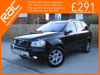 Volvo XC90 2.4 D5 Turbo Diesel 200 BHP Executive Geartronic 6 Speed Auto AWD 4x4 4WD 7-Seater Rear DVD Sat Nav Bluetooth Full Leather Heated and Cooled Seats BLIS Just 1 Lady Owner Only 80,000 Miles Full Service History 12-Reg