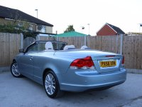 Volvo C70 2.4i SE Geartronic Auto Convertible Electric Hard Top Full Leather Climate Control Parking Sensors Just 2 Private Owners Only 39,000 Miles Full Service History 9 Stamps 56-Reg