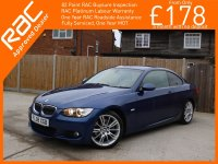 BMW 3 Series 325i 3.0 214 BHP M Sport 6 Speed Auto 2 Door Coupe Bluetooth Full Leather Climate Control Parking Sensors 18in M Sport Alloys Same Private Owner For The Last 4 Years Only 67,000 Miles Full Service History 4,500 Pounds of Extras 08-Reg