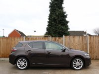 Lexus CT CT200h Hybrid SE-L Auto Sat Nav Rear Cam Bluetooth Full Leather Heated Seats Climate Control Just 1 Lady Owner Only 22,000 Miles Full Lexus Service History From The Supplying Dealer 5 Stamps Free Road Tax 12-Reg