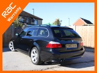BMW 5 Series 530d 3.0 232 BHP Turbo Diesel SE 6 Speed Auto Touring Estate Sat Nav Bluetooth Full Leather Heated Seats Full Service History Vehicle Previously Supplied By Us over 9,000 Pounds of Extras 57-Reg