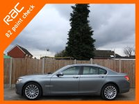 BMW 7 Series 730d 3.0 245 PS Turbo Diesel SE 6 Speed Auto Sat Nav Rear Cam Bluetooth Full Leather Heated Seats Just 2 Private Owners Only 48,000 Miles Full Service History 10-Reg