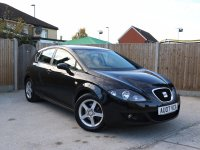 SEAT Leon 2.0 TDI Turbo Diesel Reference Sport 5 Door 6 Speed Bluetooth Air Con 16in Alloys Just 2 Private Owners Only 74,000 Miles Comprehensive Service History 07-Reg