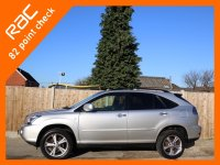 Lexus RX RX400h 3.3 Hybrid SE Auto 4x4 4WD Sunroof Sat Nav Rear Cam Bluetooth Full Leather Heated Seats Just 2 Private Owners Only 79,000 Miles Full Service History 9 Stamps 57-Reg