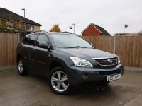 Lexus RX RX400h 3.3 Hybrid SE-L Auto 4x4 4WD Sunroof Rear DVD Sat Nav Rear Cam Bluetooth Full Leather Heated Seats Just 2 Private Owners Only 80,000 Miles Full Service History 7 Stamps 57-Reg
