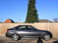 BMW 3 Series 330d M Sport Turbo Diesel 258 PS Auto Sat Nav Bluetooth DAB Full Leather Just 2 Owners Only 25,000 Miles Full Service History Only 115 Pounds a Year Road Tax 14-Reg