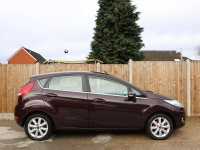 Ford Fiesta 1.4 TDCI Turbo Diesel Zetec 5 Door 5 Speed Bluetooth Climate Control Alloys Full Service History Only 20 Pounds a Year Road Tax 11-Reg