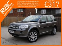 Land Rover Freelander 2.2 SD4 Turbo Diesel 190 BHP HSE 6 Speed Auto 4x4 4WD Twin Panoramic Sunroof Sat Nav Bluetooth DAB Full Leather Heated Seats Just 2 Private Owners Only 40,000 Miles Comprehensive Service History 60-Reg