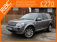 Land Rover Freelander 2.2 SD4 Turbo Diesel 190 BHP HSE 6 Speed Auto 4x4 4WD Twin Panoramic Sunroof Sat Nav Bluetooth DAB Full Leather Heated Seats Land Rover Plus 1 Lady Owner Only 71,000 Miles Full Service History 6 Stamps 11-Reg