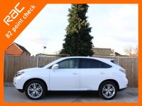Lexus RX RX450h 3.5 Hybrid SE-I 4x4 4WD Auto Sat Nav Rear Cam Bluetooth Full Leather Heated Seats Same Private Owner for more than the last 3 Years Only 75,000 Miles Full Lexus Service History From The Supplying Dealer 7 Stamps 10-Reg