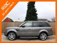 Land Rover Range Rover Sport 3.0 TDV6 Turbo Diesel HSE Luxury 6 Speed Auto 4x4 4WD Sunroof Sat Nav Rear Cam TV Bluetooth DAB Full Leather 4x Heated Seats Only 75,000 Miles Full Service History 6 Stamps 11-Reg