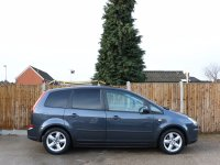 Ford C-Max 1.8 Zetec 5 Speed MPV Parking Sensors Air Con Just 2 Lady Owners Only 59,000 Miles Full Service History 6 Stamps 2011 60-Reg