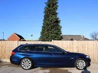 BMW 5 Series 520d SE Turbo Diesel 182 BHP 8 Speed Auto Touring Estate Sat Nav Bluetooth DAB Full Leather Heated Seats Only 56,000 Miles Full BMW and BMW Specialist Service History 8,000 Pounds of Extras 11-Reg