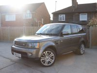 Land Rover Range Rover Sport 3.0 TDV6 Turbo Diesel HSE 6 Speed Auto 4x4 4WD Sat Nav Rear Cam Bluetooth DAB Full Leather 4x Heated Seats Just 2 Private Owners Only 66,000 Miles Full Service History 6 Stamps 2011 60-Reg