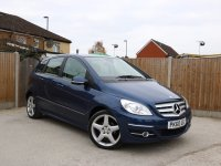 Mercedes-Benz B Class B180 Sport 5 Door Auto Bluetooth Parking Sensors Air Con 18in AMG Alloys Just 2 Lady Owners Only 57,000 Miles Full Mercedes Service History 7 Stamps 60-Reg