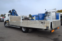 Mercedes-Benz Axor 1824 Dropside with Front Mounted Crane Loader