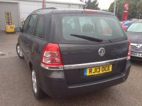 VAUXHALL ZAFIRA 1.6 Exclusiv 5 Dr 139/139