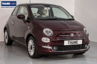 Fiat 500 1.2 70ps Lounge With Air Con, Glass Roof And Cruise Control