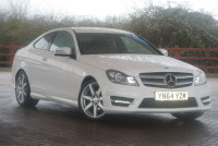 Mercedes-Benz C Class C220 CDI AMG Sport Edition 2dr Auto [Premium]