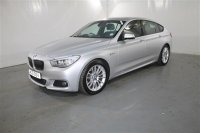 BMW 5 Series 3.0 530D M SPORT GRAN TURISMO 5 DOOR, REVERSE ASSIST CAMERA, BLACK DAKOTA LEATHER, PANORAMIC ROOF, CRUISE CONTROL, CLIMATE CONTROL, ALLOYS