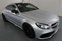 Mercedes-Benz C Class 4.0 AMG C 63 PREMIUM 2DR COUPE, AUTOMATIC, LIMITED EDITION COLOUR, ECO S/S,LEATHER, PANORAMIC SLIDING ROOF, COMMAND ONLINE, AMG PERFORMANCE BRAKES, AMG DYNAMIC SELECT, KEYLESS COMFORT PACK, ANTI THEFT DETECTION PACK, AMG NIGHT PACKAGE, REVERSE ASSIST CAME