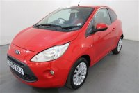 Ford Ka 1.2 ZETEC 3 DR, AIR CONDITIONING, HEATED FRONT SCREEN, MEDIA CONNECTIVITY, RADIO/CD, STOP/START