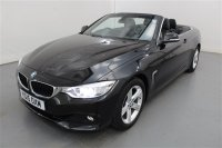 BMW 4 Series 2.0 420I SE 2 DR CONVERTIBLE, LEATHER, BUSINESS MEDIA, PARKING SENSORS, CLIMATE CONTROL, CRUISE CONTROL, FRONT FOG-LIGHTS, ALLOYS.