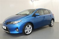 Toyota Auris 1.4 D-4D EXCEL 5 DOOR, SAT NAV, PART LEATHER TRIM, PARKING SENSORS, HEATED SEATS, CLIMATE CONTROL, PRIVACY GLASS, CRUISE CONTROL, ALLOY WHEELS