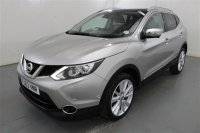 Nissan Qashqai 1.6 DCI TEKNA 4 WD 5 DR, LEATHER, ELECTRIC SUN ROOF, PARKING SENSORS, PRIVACY GLASS, SAT NAV, CLIMATE CONTROL, HEATED SEATS
