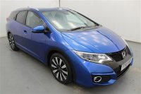 Honda Civic 1.6 I-DTEC SR TOURER 5 DR ESTATE, LEATHER, SAT NAV, PARKING SENSORS, PRIVACY GLASS, CLIMATE CONTROL, HEATED FRONT SEATS, ALLOYS
