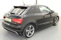 Audi A1 2.0 TDI S LINE BLACK EDITION 3 DR, CLIMATE CONTROL, PART LEATHER, SPORTS SEATS, LUMBAR SUPPORT, ALLOY WHEELS