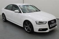 Audi A4 1.8 TFSI S LINE BLACK EDITION S/S AUTO 4 DR  PARTIAL LEATHER, CLIMATE CONTROL, AIR CONDITIONING, PARKING SENSORS, ALLOY WHEELS