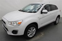 Mitsubishi ASX 1.8 DI-D 3 ESTATE, HEATED FRONT SEATS, REAR PARKING SENSORS, CRUISE CONTROL, HEATED ELECTRIC DOOR MIRRORS, CLIMATE, ALLOYS, 2 MITSUBISHI SERVICES