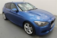 BMW 1 Series 2.0 120D M SPORT 5 DR, BUSINESS MEDIA, AIR CONDITIONING, AUTO CLIMATE CONTROL, CRUISE CONTROL, DUAL ZONE CLIMATE, REAR PARKING SENSORS,