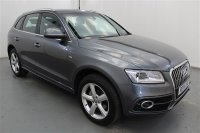 Audi Q5 2.0 TDI QUATTRO S LINE S/S 5 DR, PARKING SENSORS, PART LEATHER, SPORTS SEATS, CLIMATE CONTROL, LUMBAR SUPPORT, ALLOY WHEELS