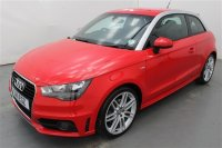 Audi A1 1.4L TFSI S LINE 3 DR, LUMBAR SUPPORT, SPORTS SEATS, FRONT FOG LIGHTS, TRACTION CONTROL, AIR CON, ALLOY WHEELS