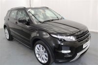 Land Rover Range Rover Evoque 2.2 SD4 DYNAMIC AUTOMATIC 5 DR, REAR ENTERTAINMENT, SAT NAV, FIXED PANORAMIC ROOF INC POWER BLINDS, SURROUND CAMERA SYSTEM, FRONT AND REAR PARKING SENSORS, LEATHER, ELECTRIC TAILGATE, CLIMATE CONTROL, CRUISE CONTROL, ALLOY WHEELS