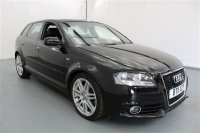 Audi A3 2L SPORTBACK TDI S LINE 5 DR ALLOY WHEELS, ABS, TRACTION CONTROL, AIR CON