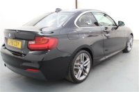 BMW 2 Series 1.5 218I M SPORT AUTOMATIC COUPE 2 DR, M SPORT PLUS PACKAGE, PARKING SENSORS, FRONT HEATED SEATS, HEATED STEERING WHEEL, CRUISE CONTROL WITH BRAKE FUNCTION, SAT NAV, CLIMATE CONTROL, PRIVACY GLASS, AUTO LIGHTS AND WIPERS, 18 INCH ALLOY WHEELS
