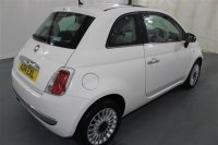 Fiat 500 1.2L LOUNGE HATCHBACK 3 DR START AND STOP, ALLOY WHEELS, DIGITAL AUDIO PLAYER, ELECTRIC FRONT WINDOWS, AIR CON