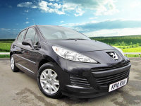 Peugeot 207 PEUGEOT 207 S 8V 5dr, Air Conditioning, Alloy Wheels, ISOFIX, Electric Front Windows, Clarion Stereo Radio/Mono CD Player With MP3 Playback, AUX Inputs.