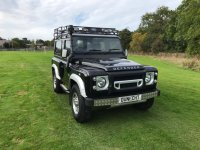 Land Rover Defender 2.2 TD XS STATION WAGON KAHN STYLING,ROOF RACK,SNORKEL (10/06/2014)