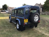 Land Rover Defender 2.5 TD5 110 COUNTY S/WAGON 9 SEATER (15/02/2007)