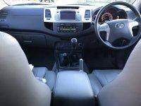 Toyota Hilux 3.0 D-4D INVINCIBLE X D-CAB MAN NO VAT (26/09/2013)