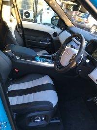Land Rover Range Rover Sport 5.0 V8 SVR AUTO (31/03/2017)MIAMI BLUE VERY HIGH SPEC