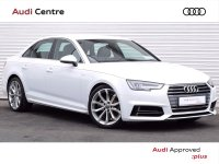 Audi A4 2.0TDi 150HP S-TRONIC S-LINE 4DR AUTOMATIC