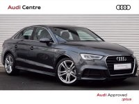 Audi A3 SALOON 1.6 TDi 110HP S-LINE S-TRONIC 4DR AUTOMATIC COMING SOON