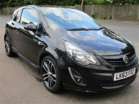VAUXHALL CORSA 3 DOOR BLACK EDITION
