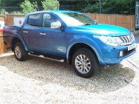 Mitsubishi L200 Double Cab DI-D 178 Warrior 4WD Auto Double Cab