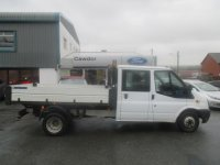 Ford Transit D/Cab Chassis TDCi 125ps [DRW] Double Cab